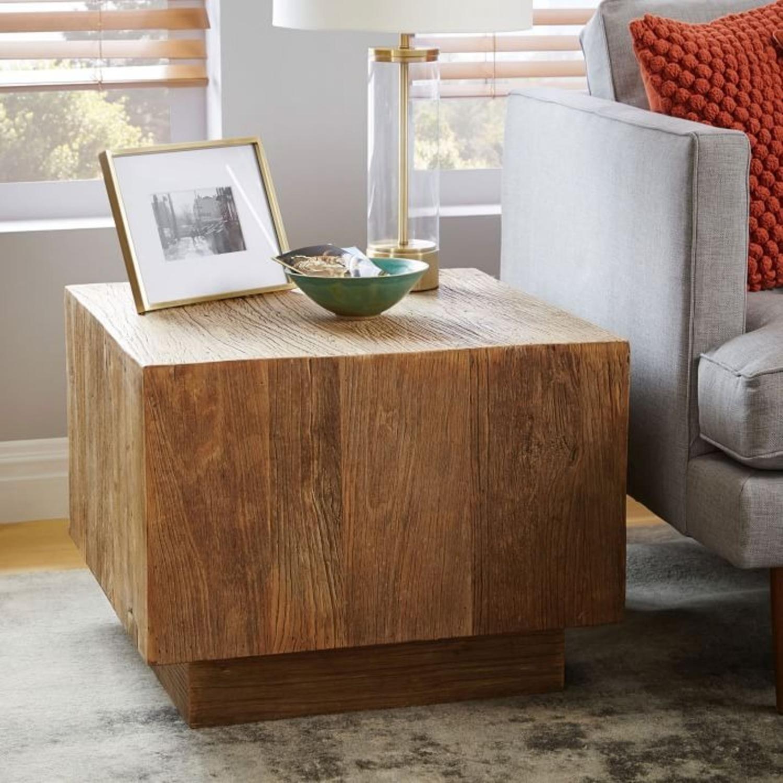 West Elm Plank Side Table - image-2