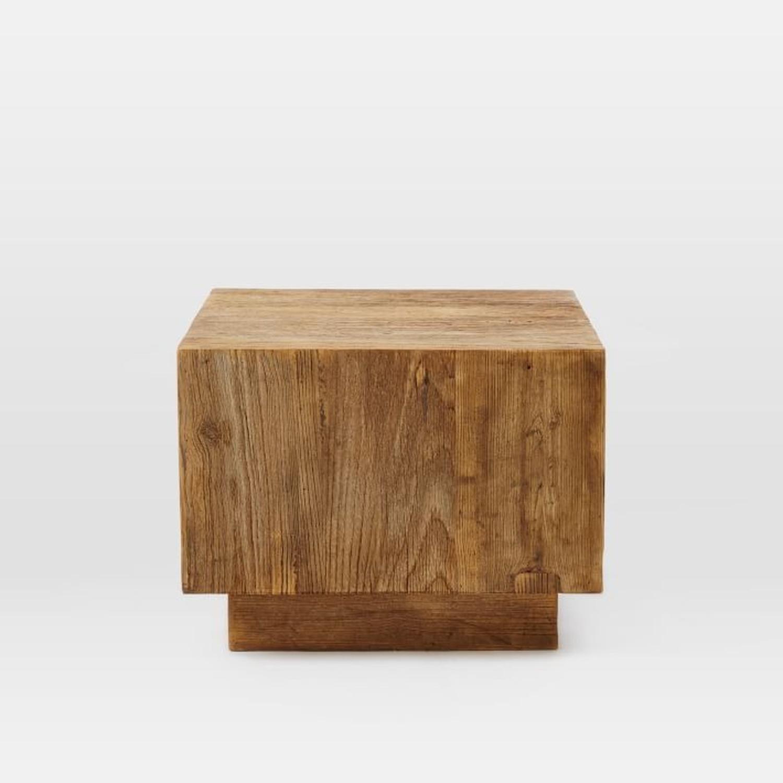 West Elm Plank Side Table - image-3