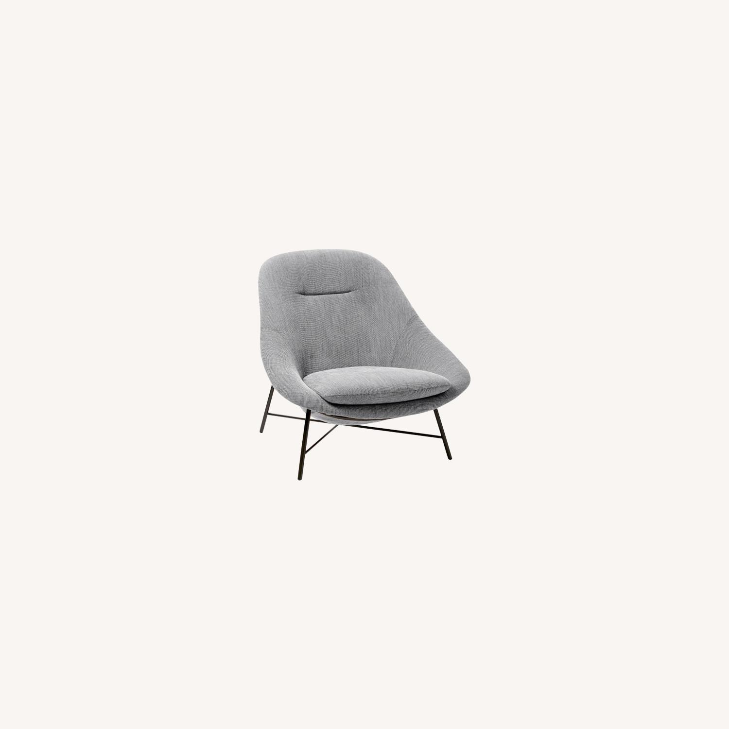 West Elm Alvi High-Back Chair - image-0