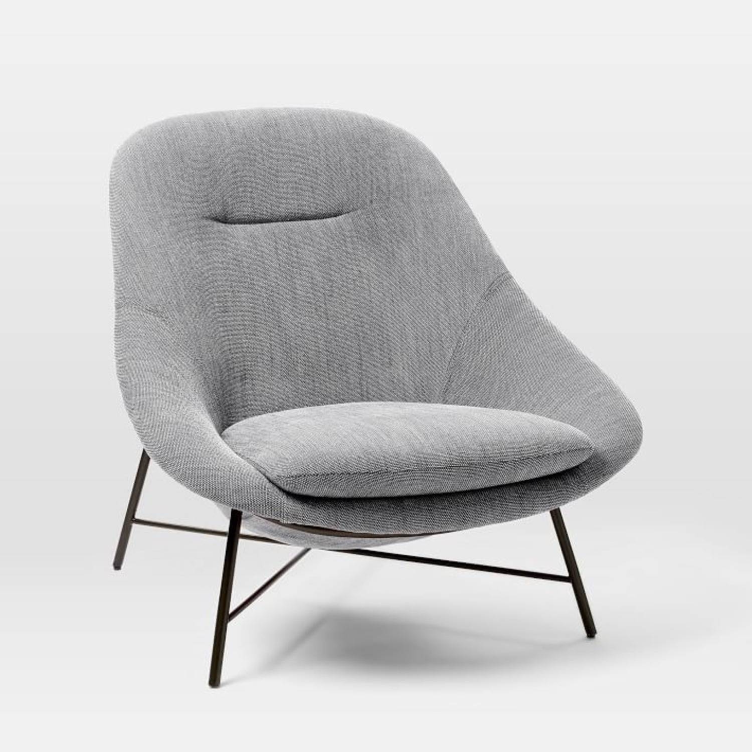West Elm Alvi High-Back Chair - image-1