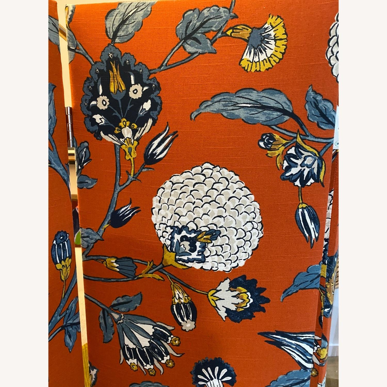 Upholstered Floral Room Divider - image-3