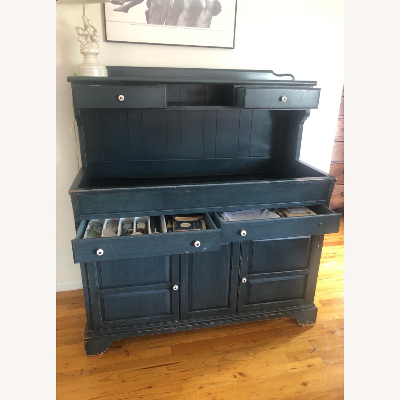 Vintage Dining Room Storage Hutch - image-5