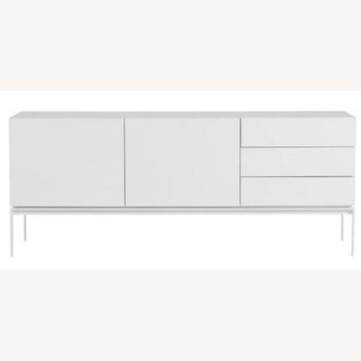 White Lacquer Sideboard - image-1