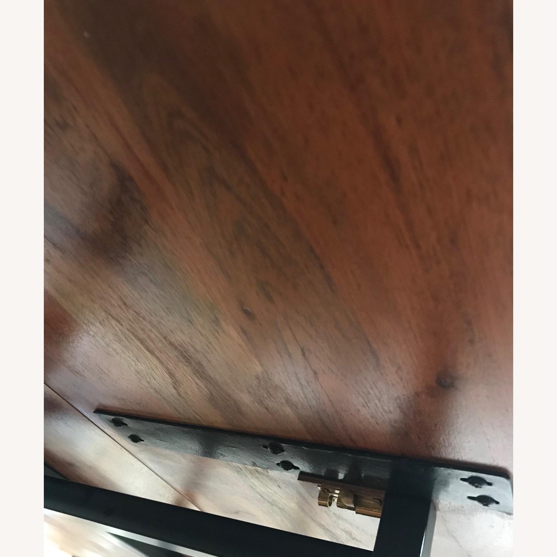 Crate & Barrel Origami Drop Leaf Rectangular Dining Table - image-3