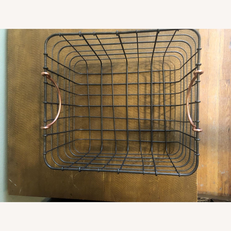 Metal Storage Baskets - image-1