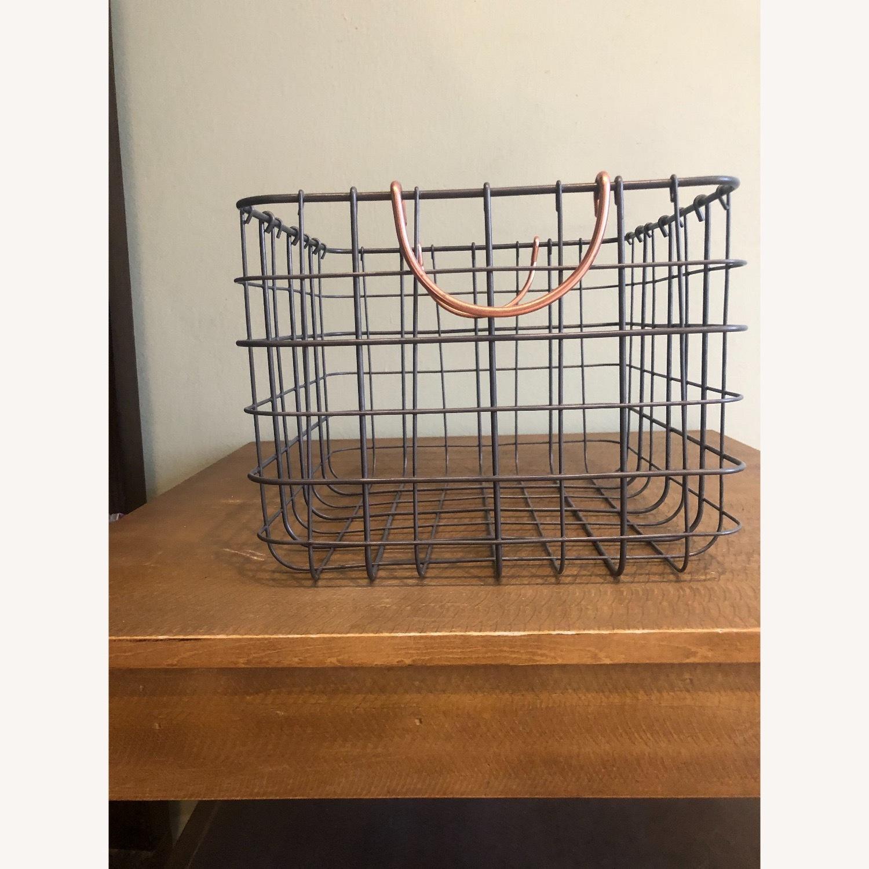 Metal Storage Baskets - image-2