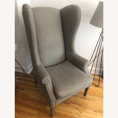 Used Lillian August High Wing Arm Chair for sale on AptDeco
