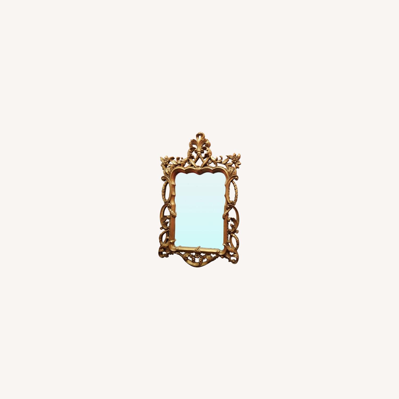 Vintage Gold Mirror - image-0