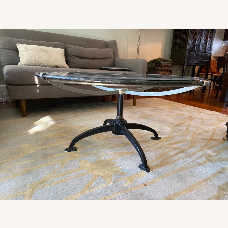 Arhaus Metal /Glass Coffee Table - image-4
