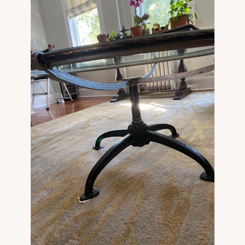 Arhaus Metal /Glass Coffee Table - image-3