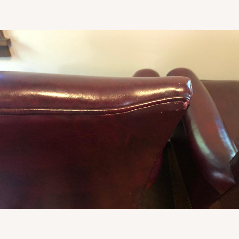 Hancock & Moore Glazed Leather Chairs - image-3