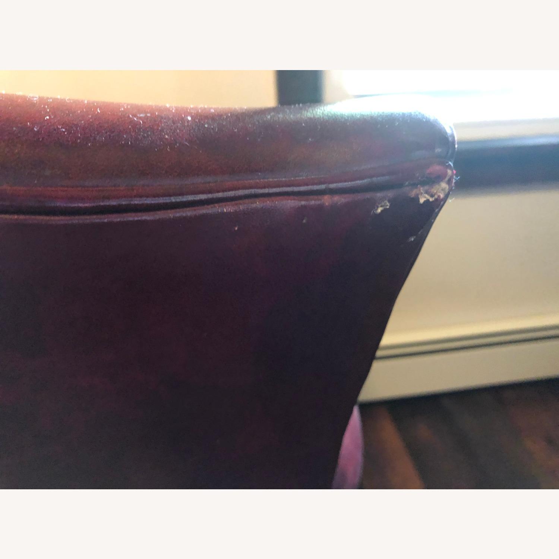 Hancock & Moore Glazed Leather Chairs - image-4