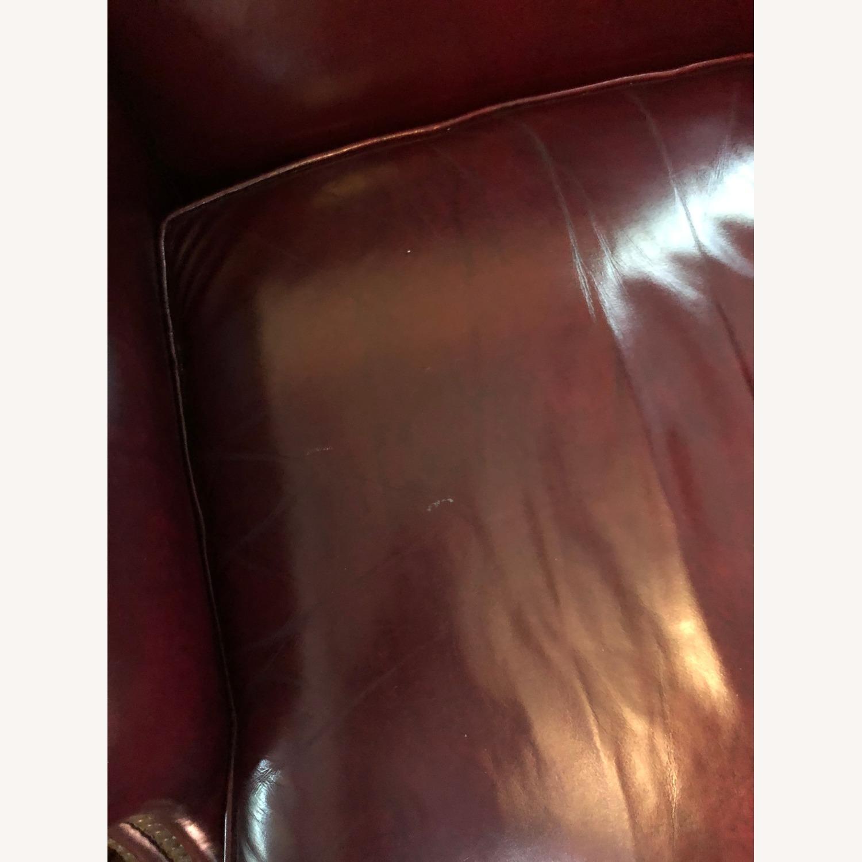 Hancock & Moore Glazed Leather Chairs - image-6