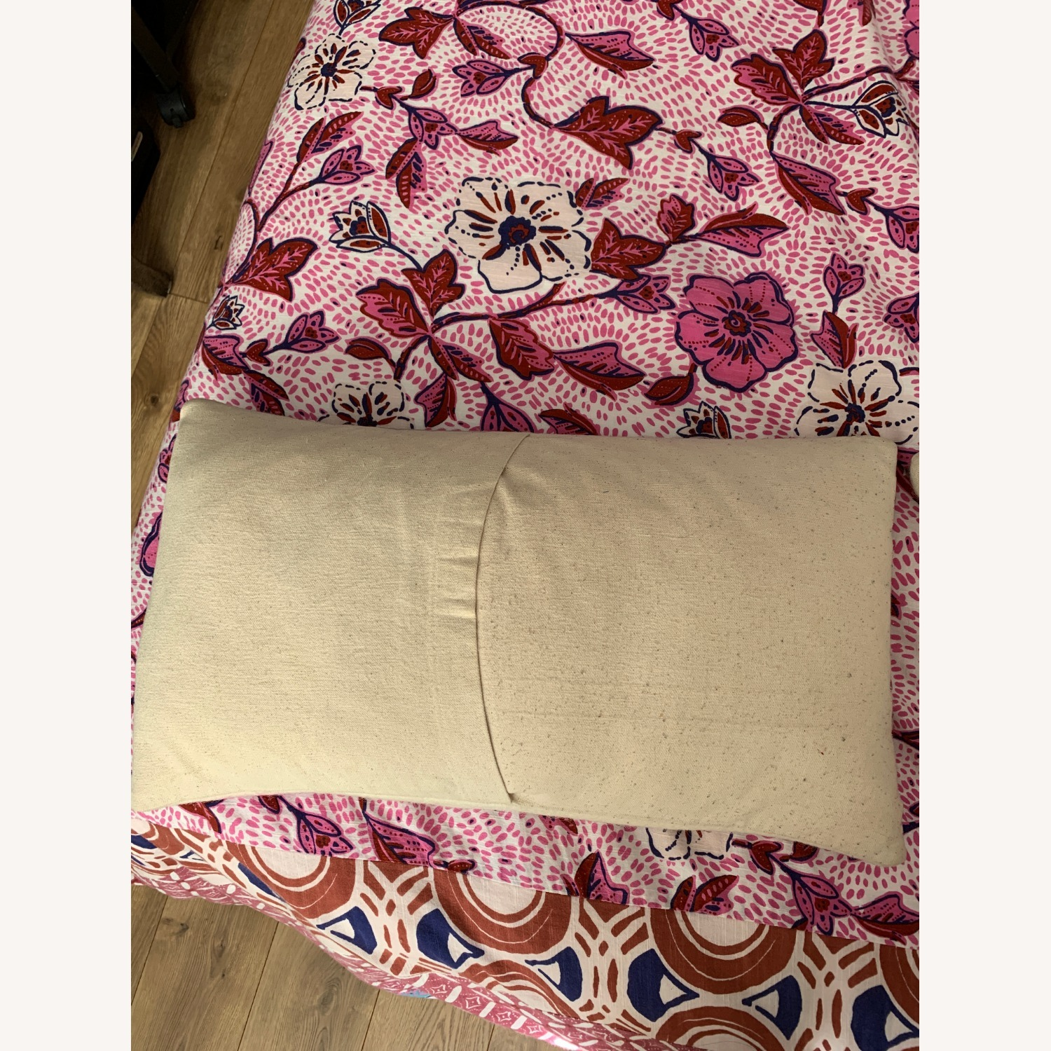West Elm Pair of Felt Pillow Covers w/ Inserts - image-4