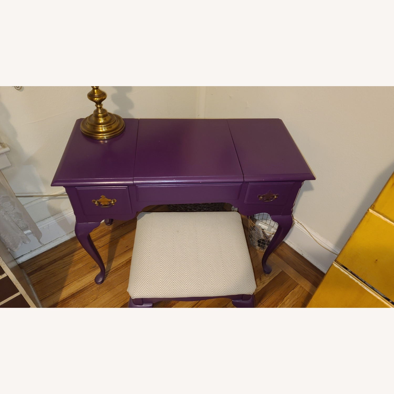 Stanley Furniture Wood Vanity Desk - image-4