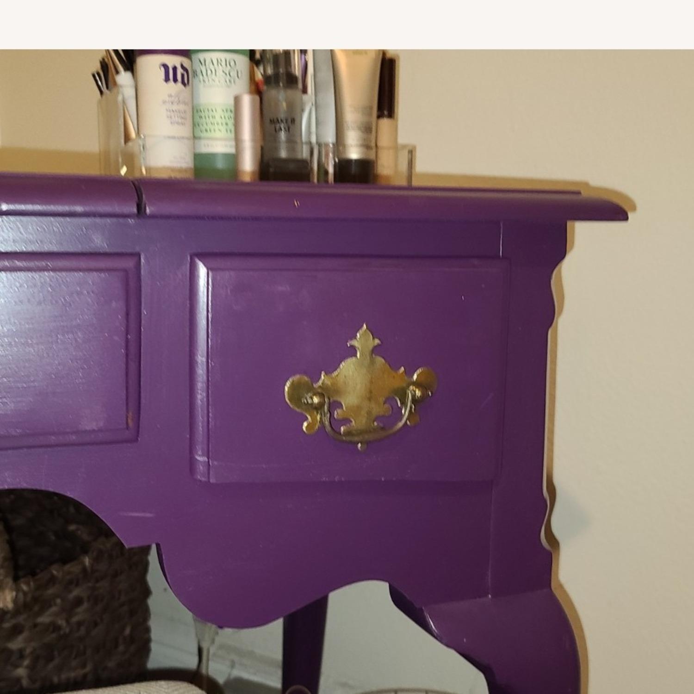 Stanley Furniture Wood Vanity Desk - image-2