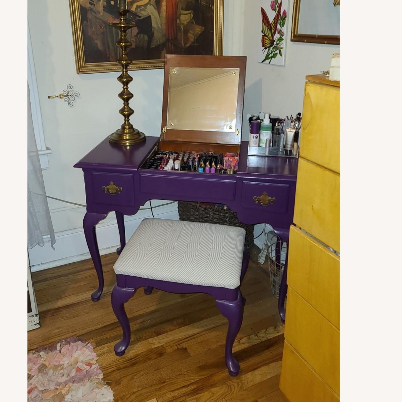 Stanley Furniture Wood Vanity Desk - image-3