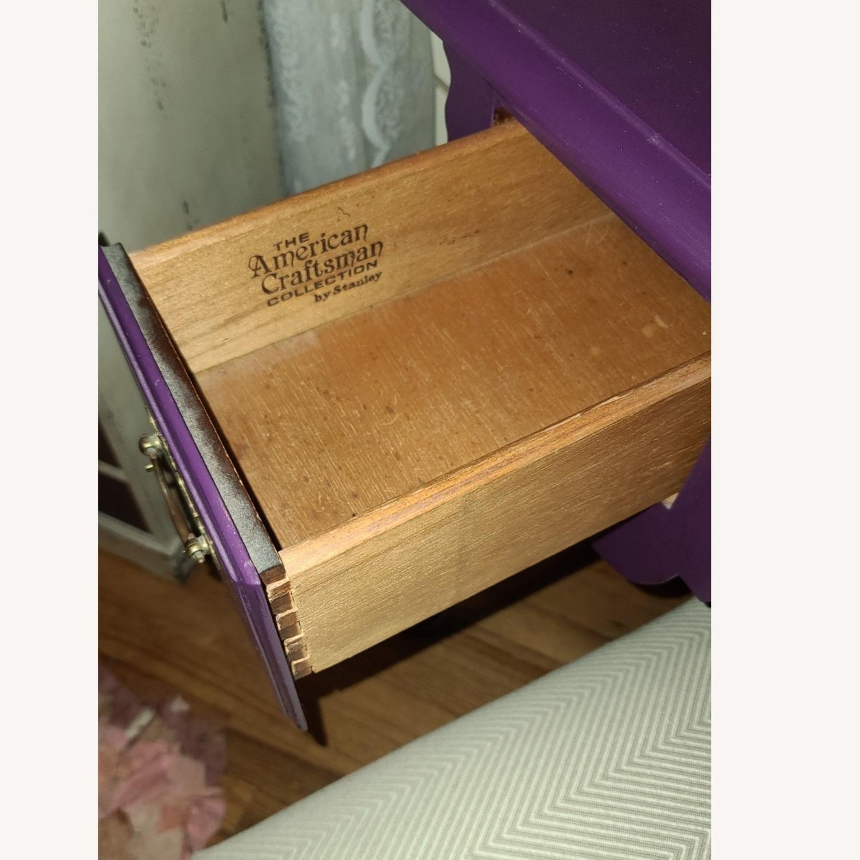 Stanley Furniture Wood Vanity Desk - image-5