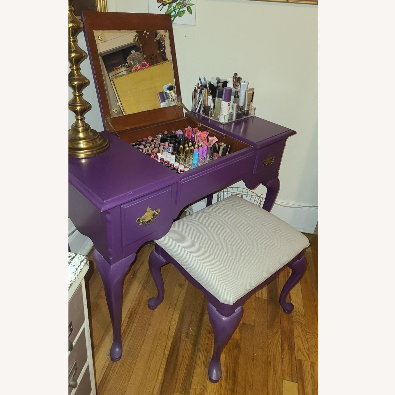 Stanley Furniture Wood Vanity Desk - image-6