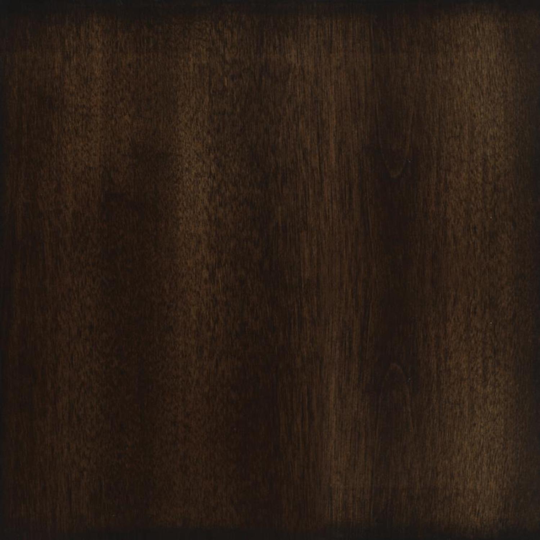 Modern End Table In Walnut Finish W/ Lower Shelf - image-2