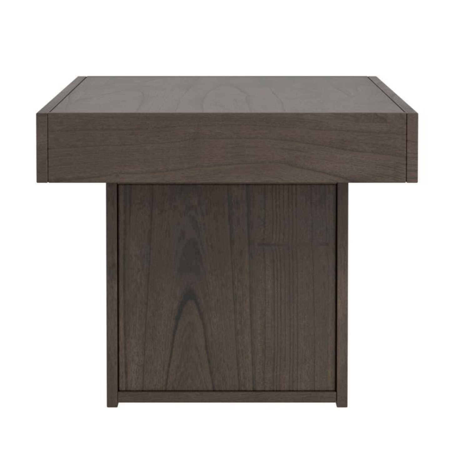 Coffee Table In Wheat Brown Finish - image-2