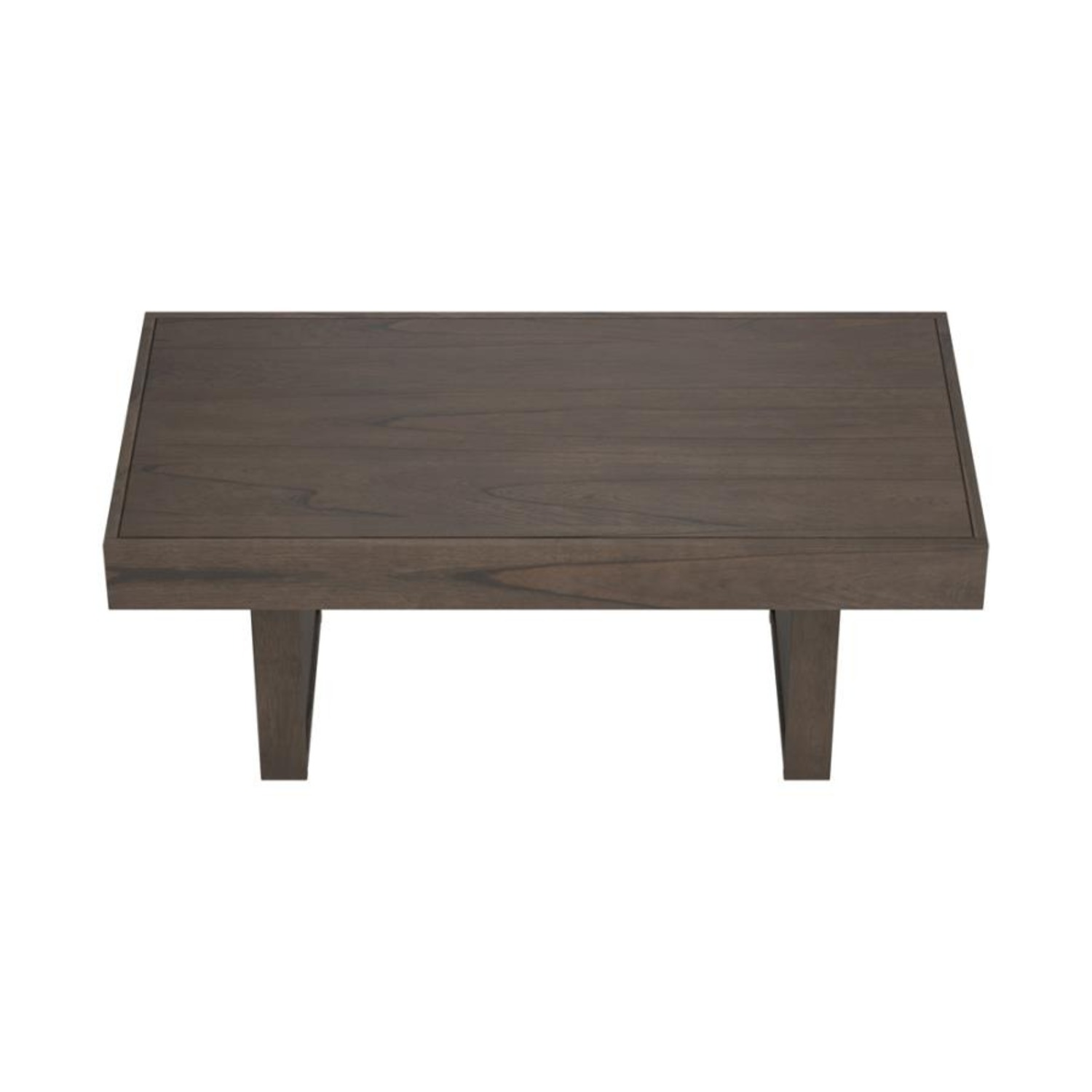 Coffee Table In Wheat Brown Finish - image-3