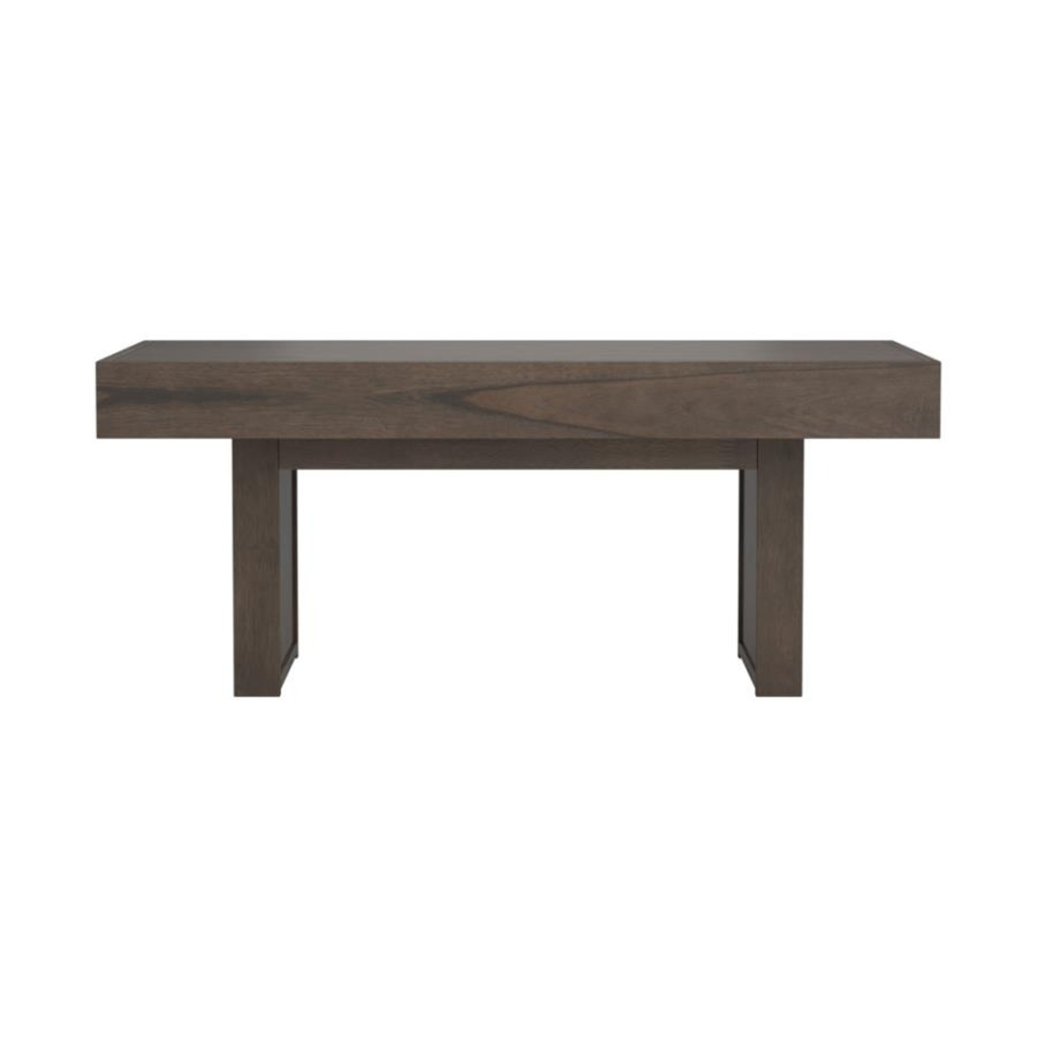 Coffee Table In Wheat Brown Finish - image-1