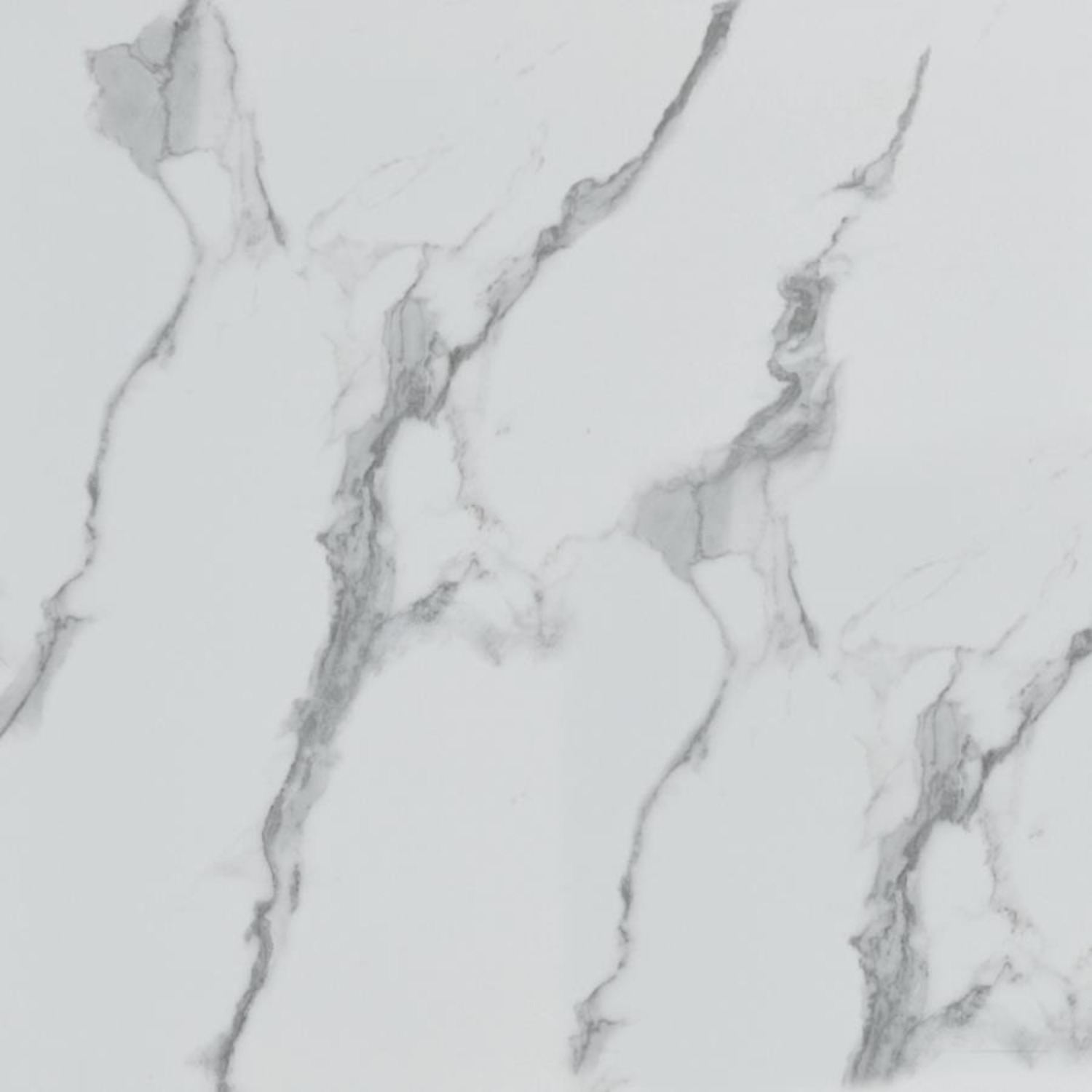 3-Piece Occasional Set In White Faux Marble Finish - image-4