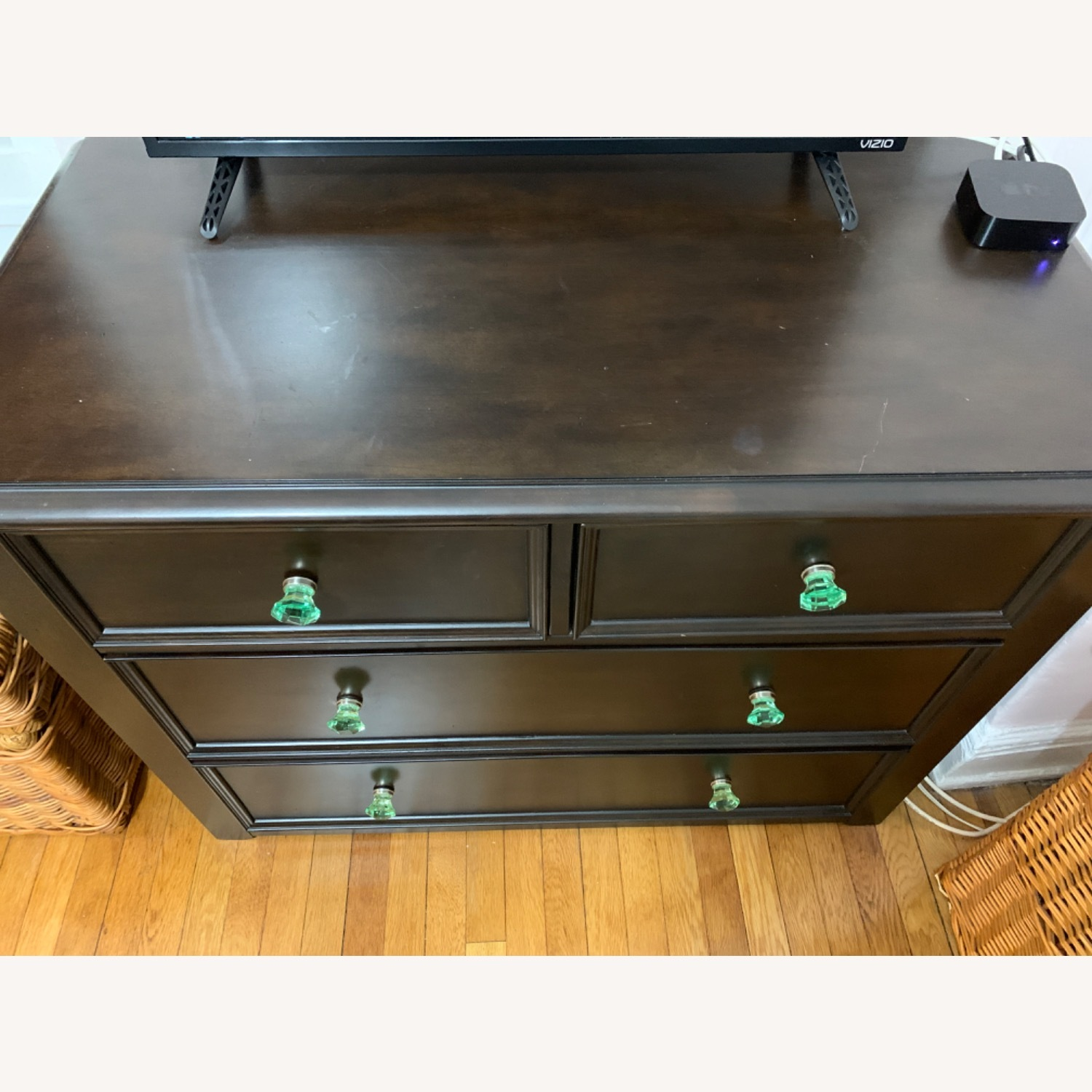Pottery Barn Dresser with Anthropologie knobs - image-3