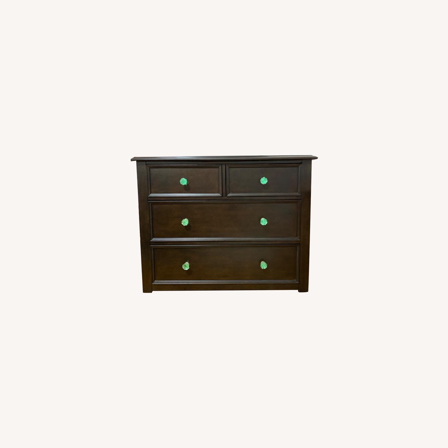 Pottery Barn Dresser with Anthropologie knobs - image-0