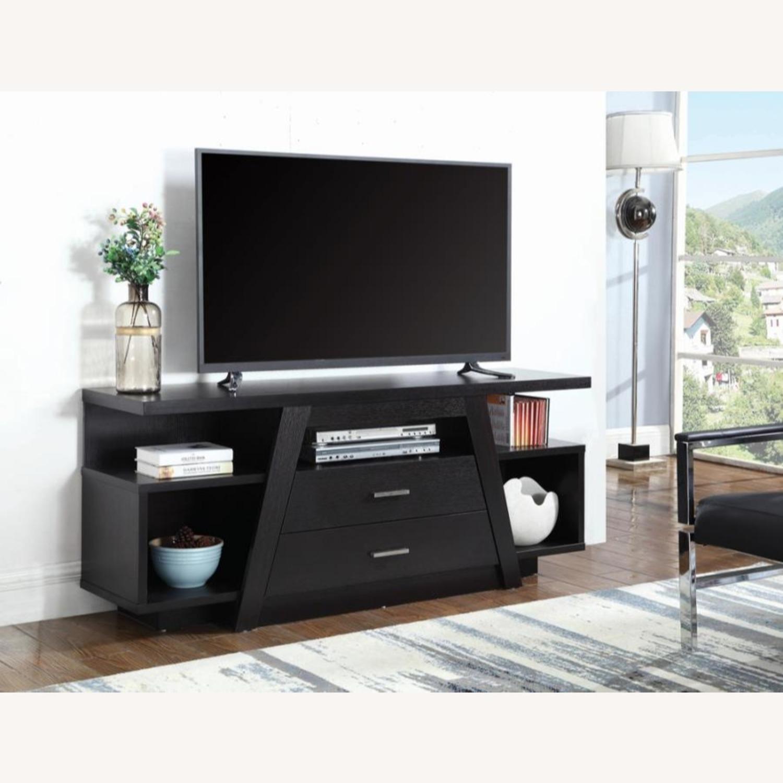 60-Inch TV Console In Cappuccino Finish - image-2