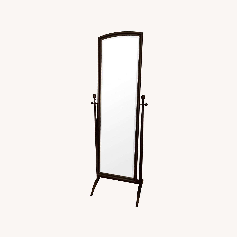 Crate & Barrel Full Length Standing Mirror - image-0