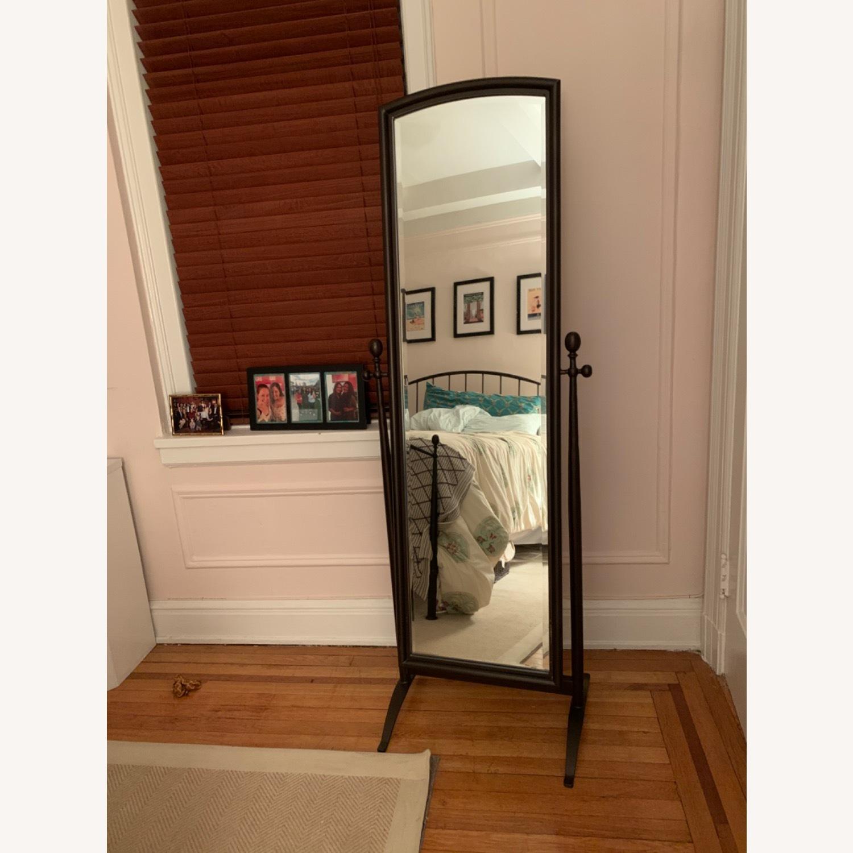Crate & Barrel Full Length Standing Mirror - image-1