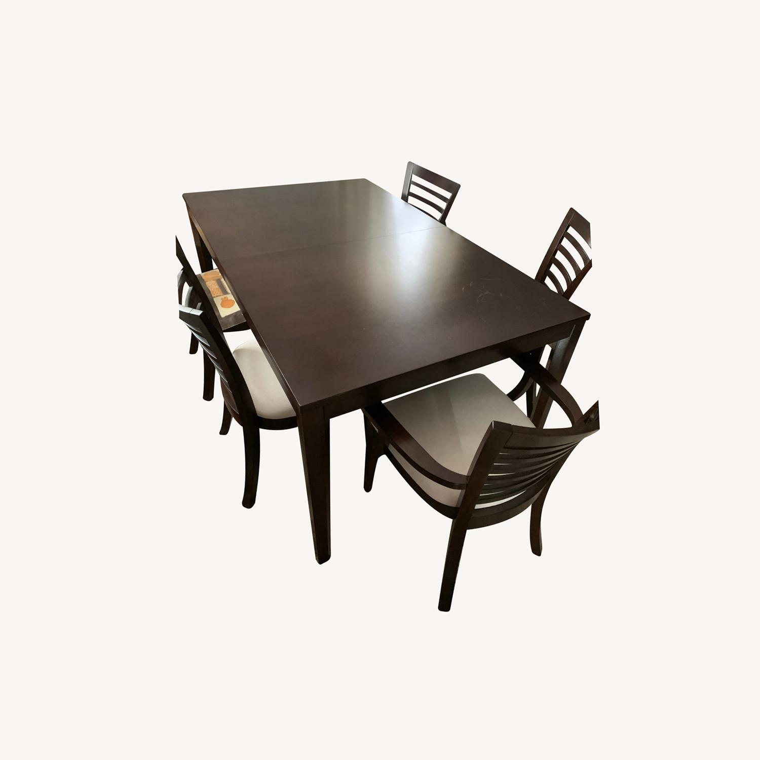5 Peice Dining Set Plus an Arm Chair - image-0