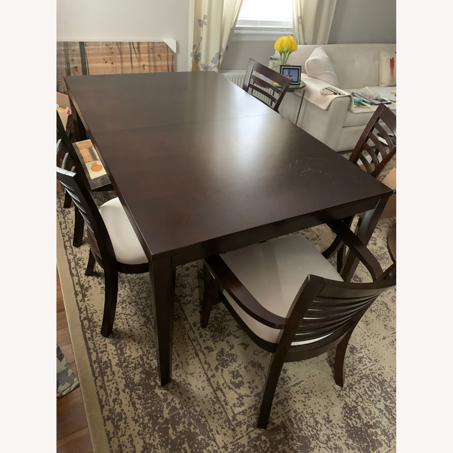 5 Peice Dining Set Plus an Arm Chair - image-1