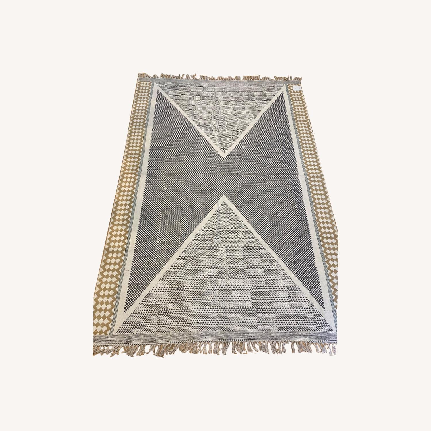 Urban Outfitters Cotton Blend Rug - image-0