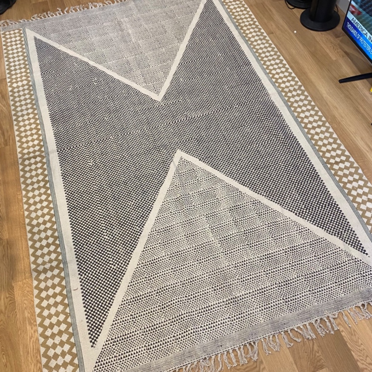 Urban Outfitters Cotton Blend Rug - image-3