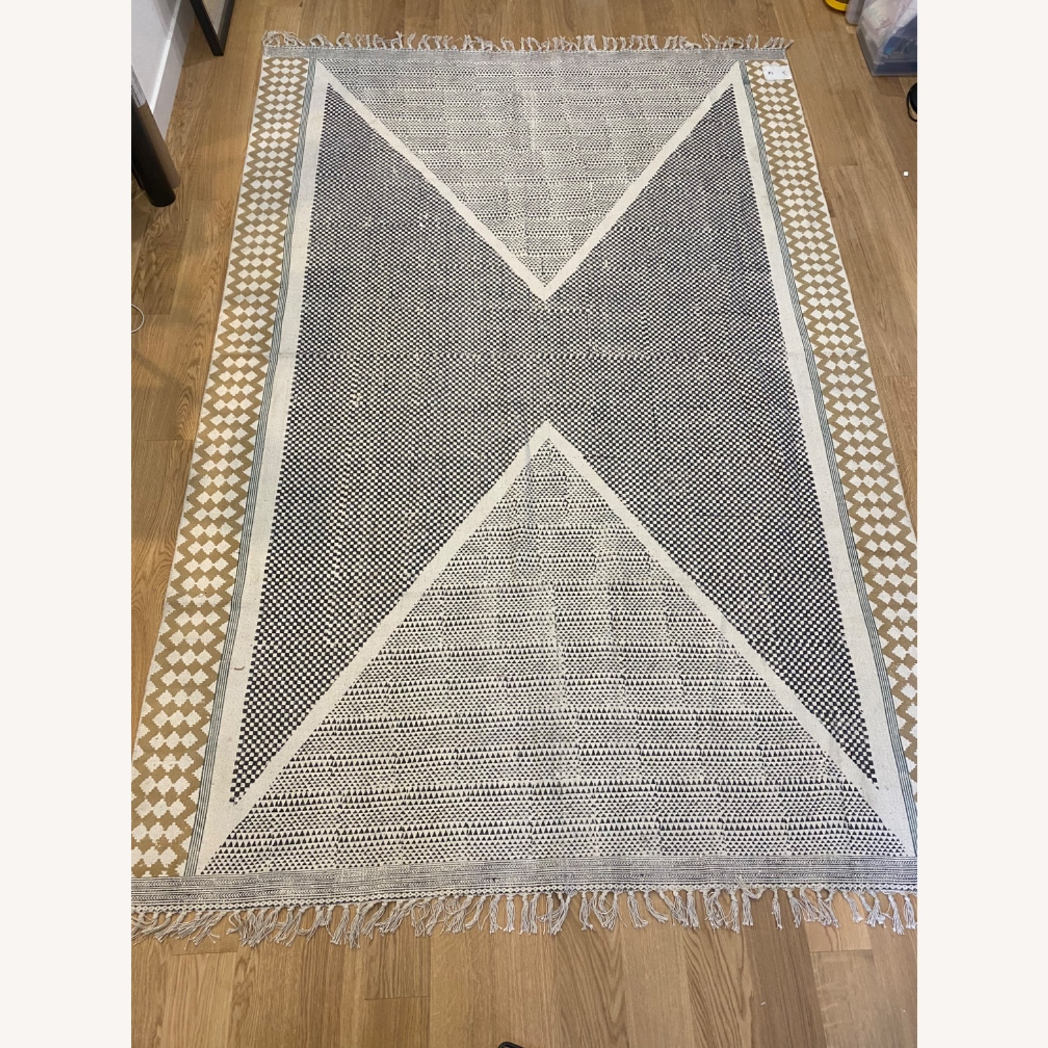 Urban Outfitters Cotton Blend Rug - image-1