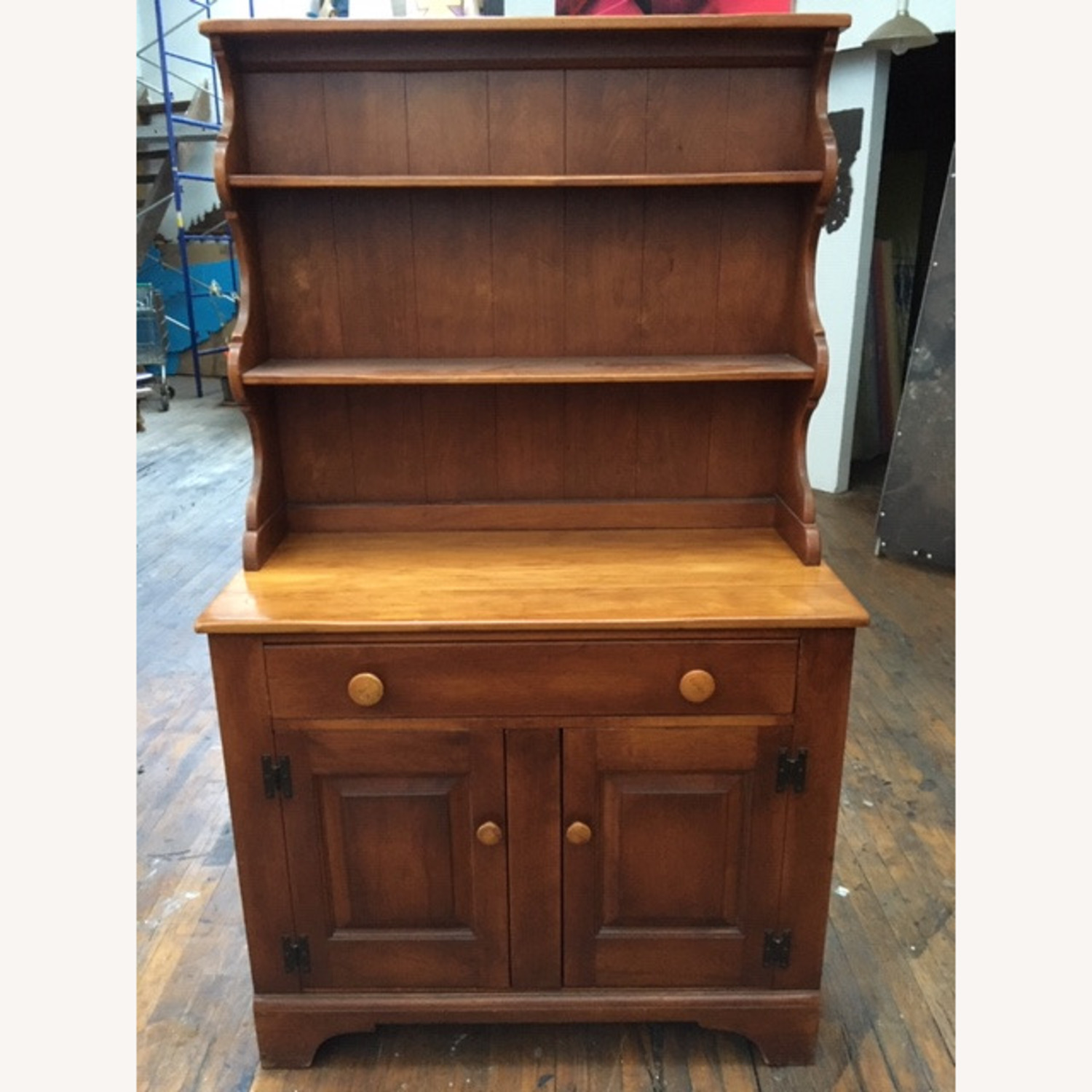 Cushman Colonial Sideboard 1950s Solid Maple - image-3
