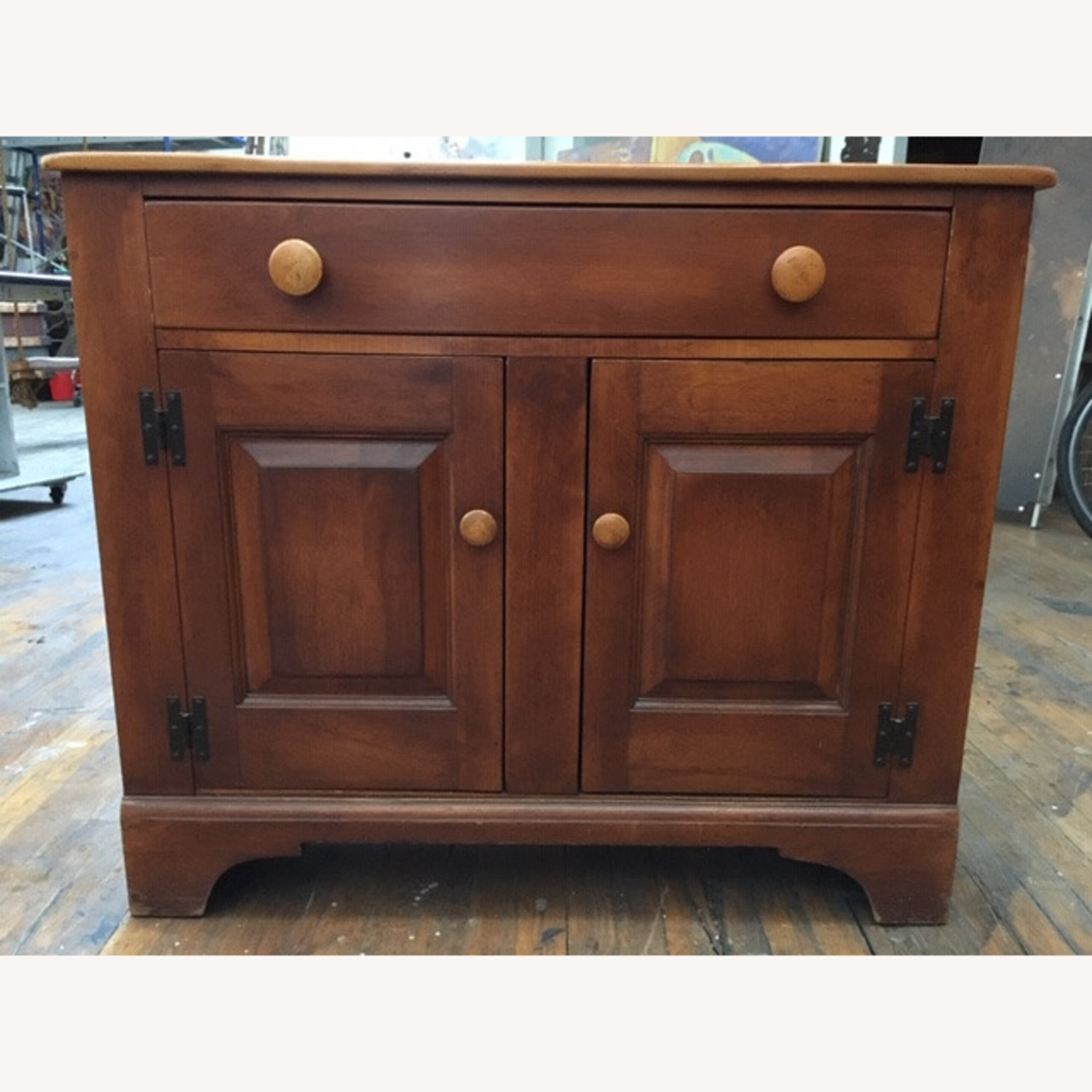 Cushman Colonial Sideboard 1950s Solid Maple - image-2