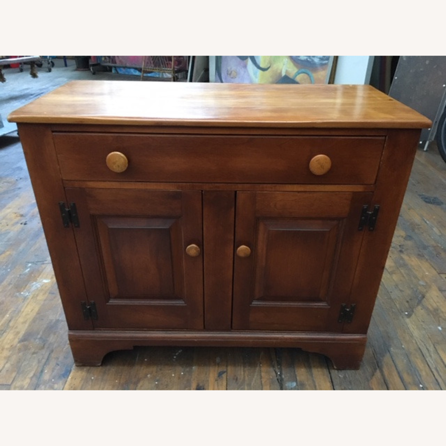 Cushman Colonial Sideboard 1950s Solid Maple - image-1