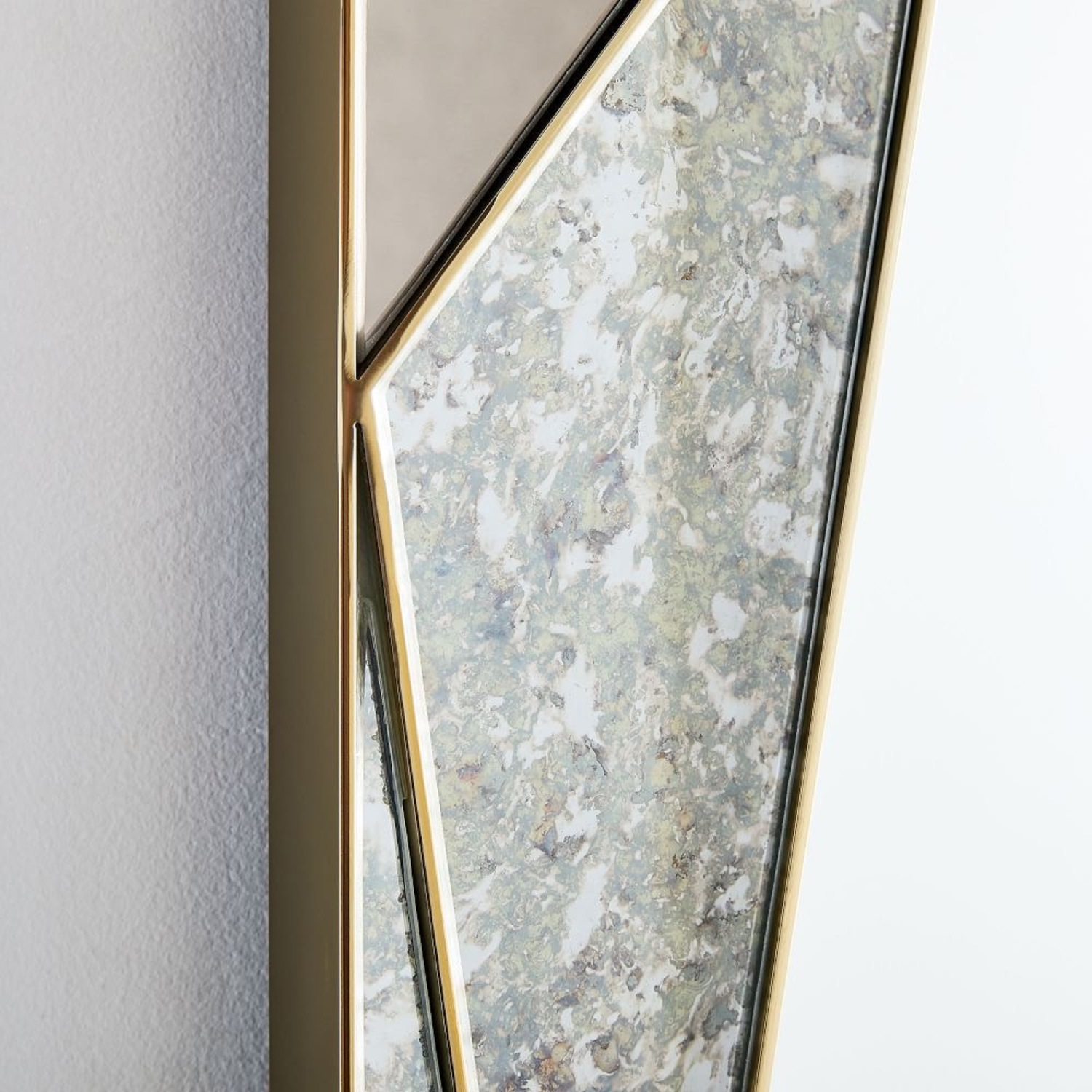 West Elm Faceted Tinted Mirror - image-3