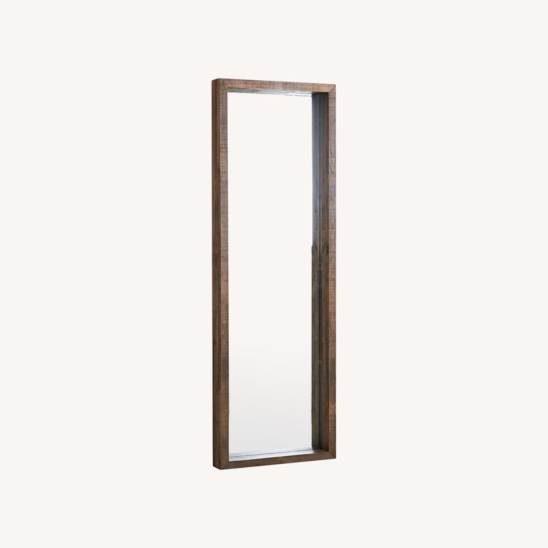West Elm Emmerson Reclaimed Wood Floor Mirror - image-0