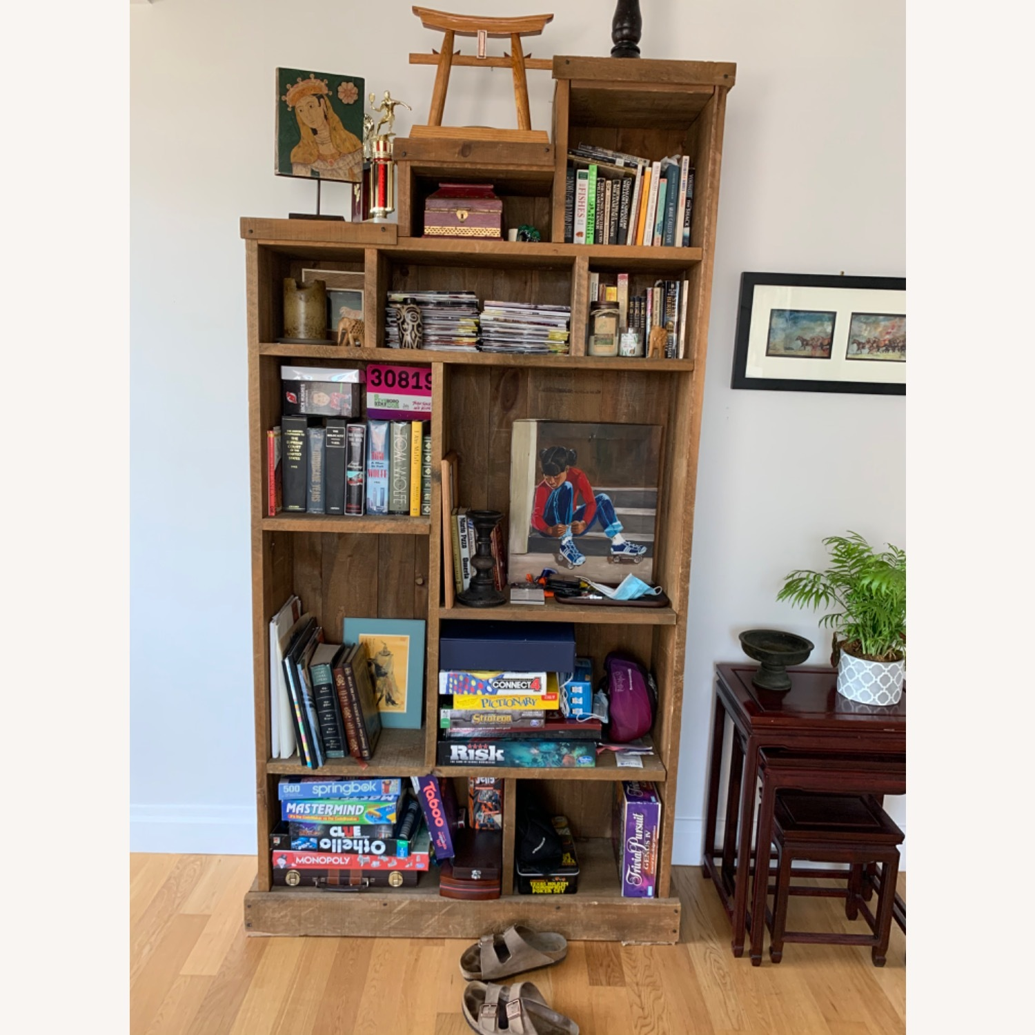 ABC Carpet and Home Solid Wood Bookshelf - image-1