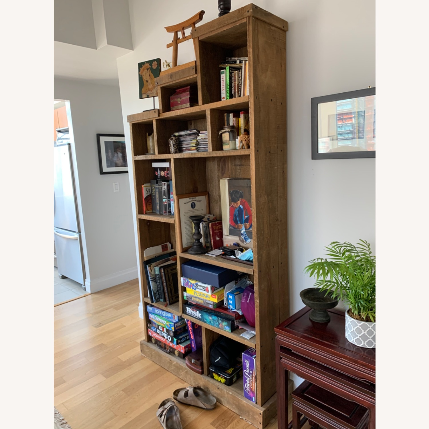 ABC Carpet and Home Solid Wood Bookshelf - image-2
