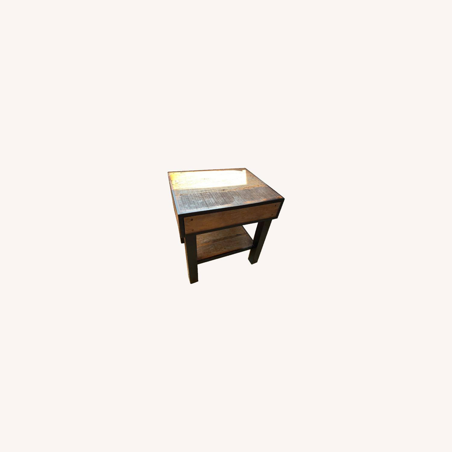 ABC Carpet and Home Wooden End Table - image-0