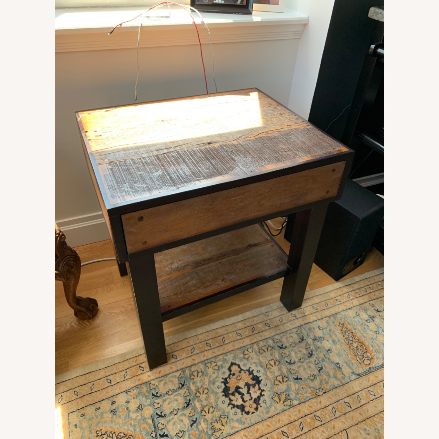 ABC Carpet and Home Wooden End Table - image-1