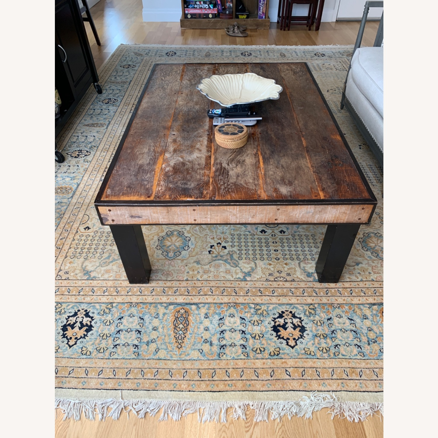 ABC Carpet and Home Wooden Coffee Table - image-3
