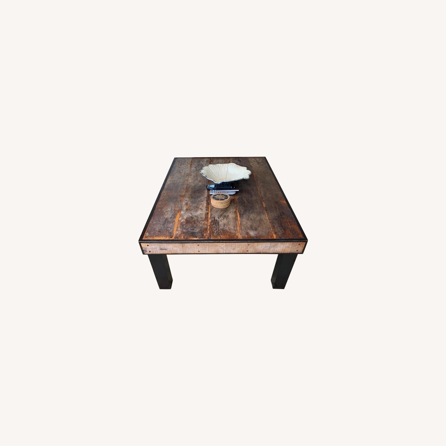 ABC Carpet and Home Wooden Coffee Table - image-0