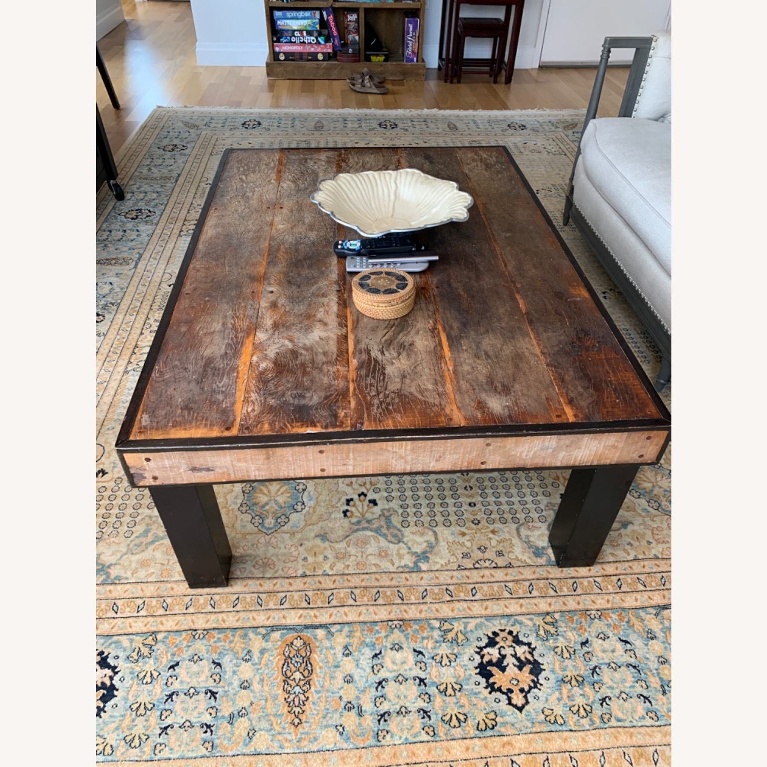 ABC Carpet and Home Wooden Coffee Table - image-1